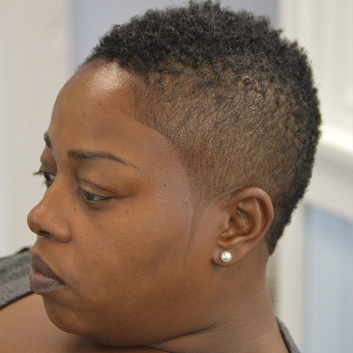 Natural Women's Haircuts in Houston